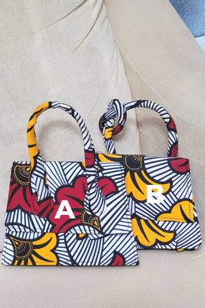 Load image into Gallery viewer, ELIA African Print Mini Bag - KEJEO DESIGNS