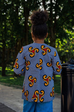 ELISE AFRICAN PRINT GIRLS' JACKET - KEJEO DESIGNS