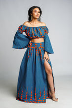 Load image into Gallery viewer, ELORA African Print Maxi Skirt SKIRT KEJEO