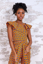 Load image into Gallery viewer, FALINA AFRICAN PRINT CROP TOP - KEJEO DESIGNS
