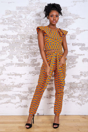 Load image into Gallery viewer, FALINA AFRICAN PRINT WOMEN'S PANT - KEJEO DESIGNS