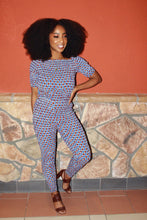 Load image into Gallery viewer, FARIA I African Print jumpsuit JUMPSUIT KEJEO