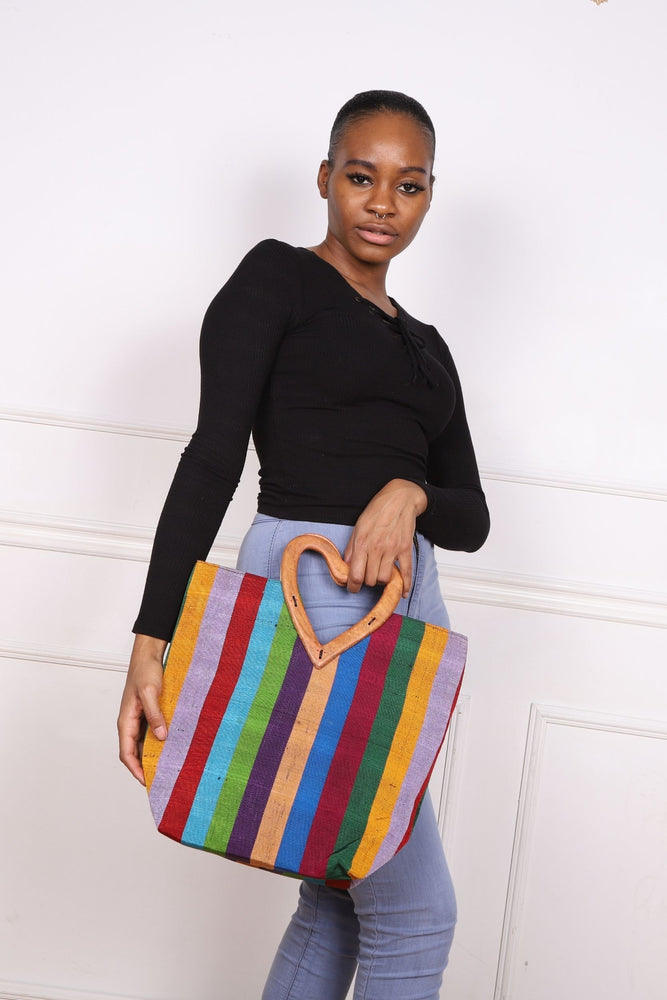 Load image into Gallery viewer, GASSIA African Print Bag - KEJEO DESIGNS