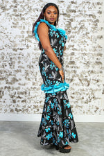 JILIANA II African Print Dress DRESS KEJEO
