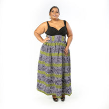 Load image into Gallery viewer, LEBI African Print Maxi Skirt SKIRT KEJEO