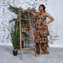 Load image into Gallery viewer, LEONIA Dress DRESS KEJEO S BROWN