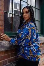 Load image into Gallery viewer, NAMEY AFRICAN PRINT KIMONO WOMEN'S JACKET - KEJEO DESIGNS