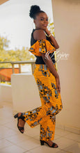 Load image into Gallery viewer, OLUMI African Print Jumpsuit JUMPSUIT KEJEO