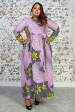 Load image into Gallery viewer, PRUDENCIA African Print Dress DRESS KEJEO