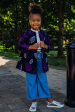 PUPA AFRICAN PRINT GIRLS' JACKET - KEJEO DESIGNS