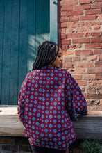 Load image into Gallery viewer, ROCKYA AFRICAN PRINT KIMONO WOMEN'S JACKET - KEJEO DESIGNS