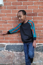 Load image into Gallery viewer, TOUSSIN AFRICAN PRINT UNISEX KIDS' SWEATSHIRT - KEJEO DESIGNS