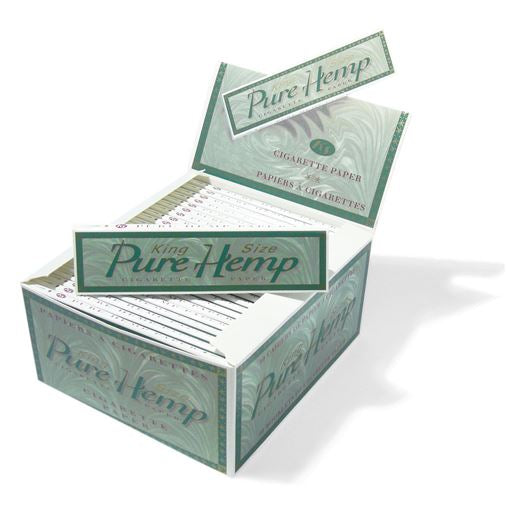 Bleached Pure Hemp King size Papers