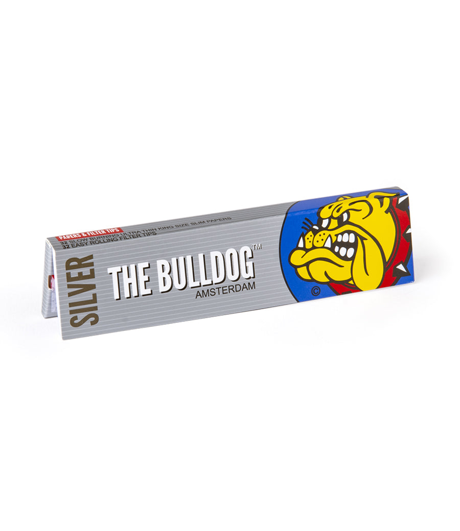 THE BULLDOG Papers - King Size Slim with Tips