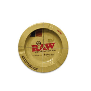 RAW Ashtray - Metal Round Magnetic