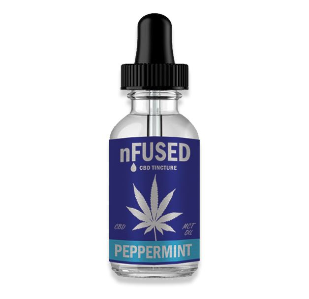 CBD TINCTURE - PEPPERMINT - 30ML