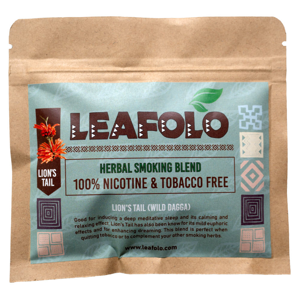 Leafolo Herbal Smoking Blend - Lions Tail