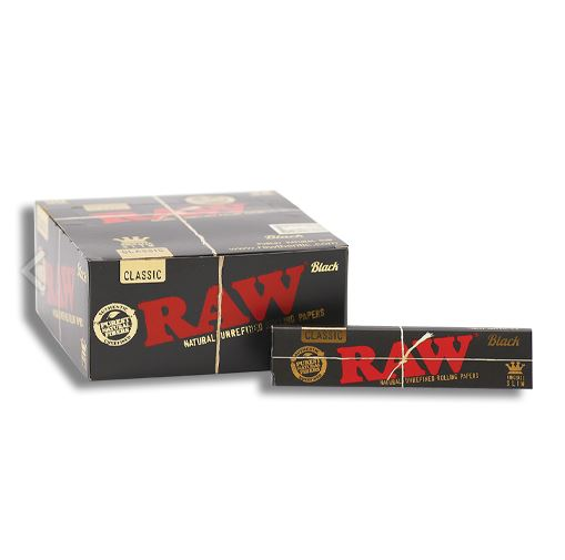 RAW Paper King Size Black Edition