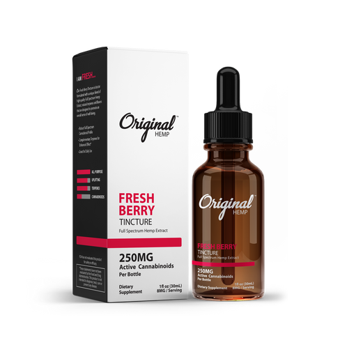 Fresh Berry Tincture | Full Spectrum Hemp Extract (30mL)