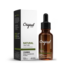 Natural Tincture | Full Spectrum Hemp Extract (30mL)