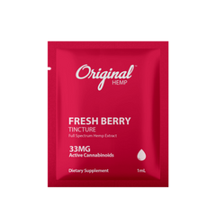 Fresh Berry Tincture (33mg) | Daily Dose