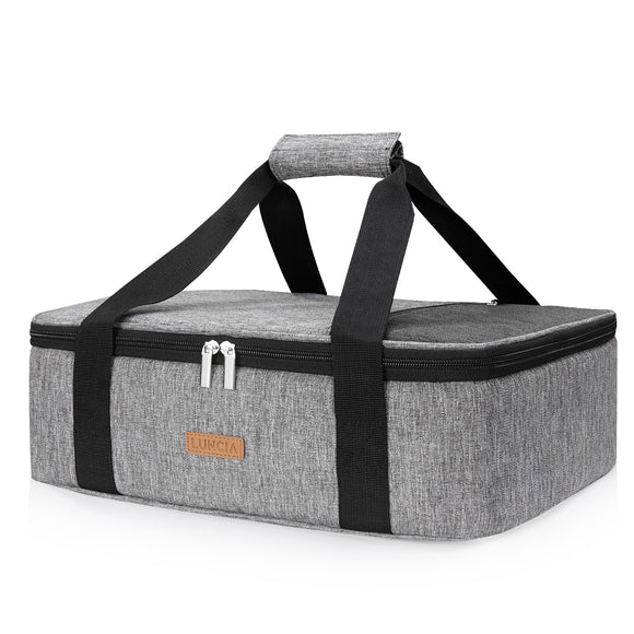 Casserole Carrier Single Decker, Grey