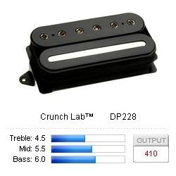 DP228FBK CrunchLab Bridge F-Spaced - Musik Utan Gränser