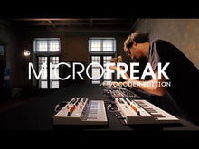 Ladda och spela upp video i Gallerivisaren, Microfreak Vocoder limited edition