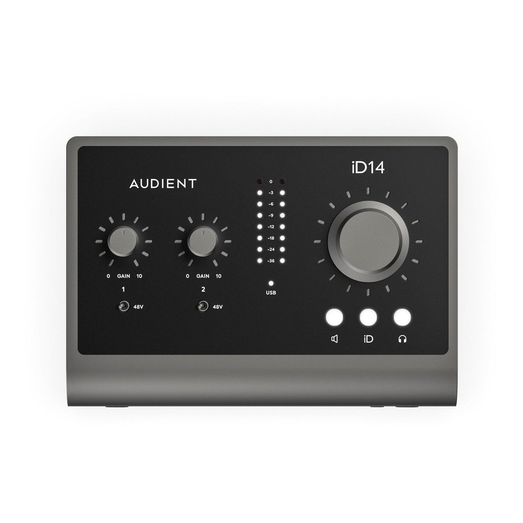 iD14 MkII - 10in/4out Audio Interface - Musik Utan Gränser