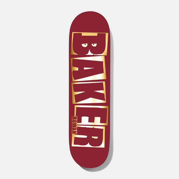 Baker Rowan Brand Name Red/Foil