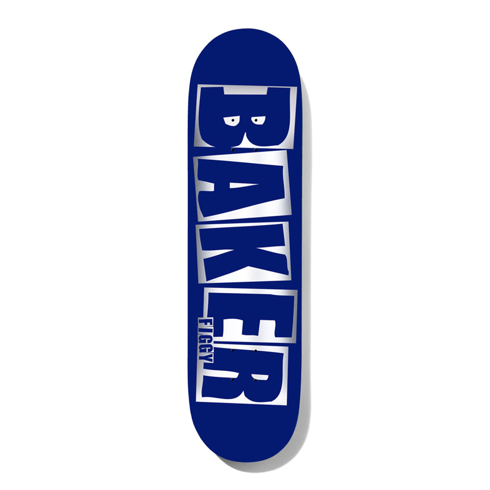 Baker Figgy Brand Name deck Blue/Foil