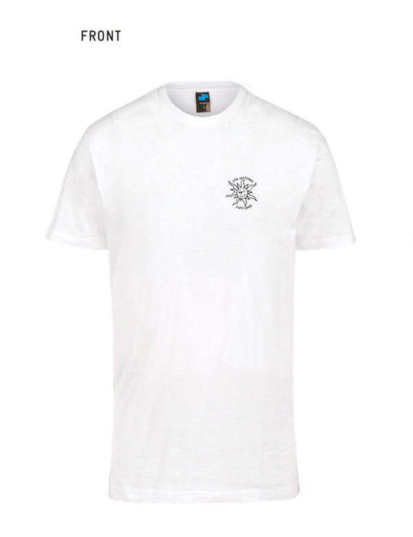 Spin X Gonz - T shirt Heart Big Back logo