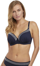 Load image into Gallery viewer, Fantasie INK San Remo Underwire Contour Gathered Swim Top, US 38G, UK 38F