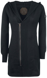 Musterbrand BLACK Assassin's Creed Knit Cardigan Fairfax, US Small