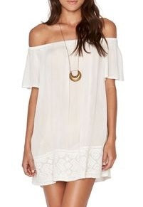 L*Space IVORY Jasper Tunic Cover Up, US Small