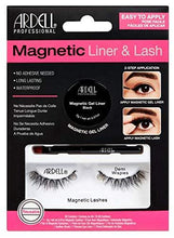 Load image into Gallery viewer, Ardell Magnetic Gel EyeLiner & False Lashes, Demi Wispies, 1 set