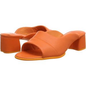 Camper ORANGE Wedge Heels Sandals Open Toe, 10US, 40EU