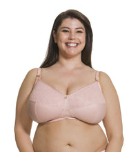 Load image into Gallery viewer, CAKE MATERNITY Blush Tea Multi Part Cup Nursing Bra, US 40H, UK 40FF, NWOT