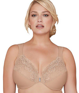 BRAMOUR Nude Brooklyn Front-Close Bra, Size 44G, NWOT - racks-op