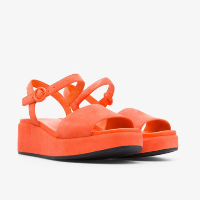 Camper ORANGE Misia Platform Wedge Sandal, 5US, 35US