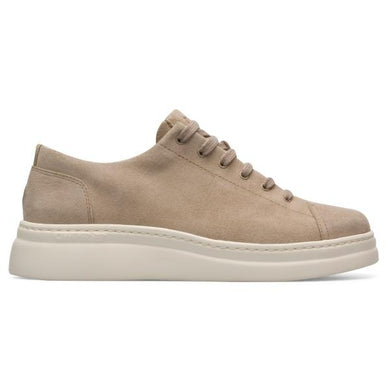 Camper MEDIUM BEIGE LEATHER Runner Up Sneaker, 9US, 39EU