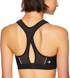 Champion BLACK Ultra Light Max Support Sports Bra, US 38B, UK 38B