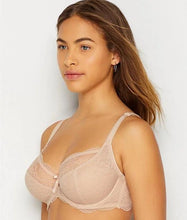 Load image into Gallery viewer, FREYA Natural Beige Fancies Underwire Plunge Bra, US 30F, UK 30E, NWOT