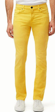 J Brand DARK YELLOW Tyler Slim Fit Jeans, US 34