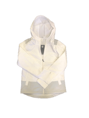 Under Armour Women's Storm 1 Hooded All Weather Jacket, White, S/P