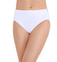 Load image into Gallery viewer, Vanity Fair STAR WHITE Body Caress Hi Cut Brief Panty, US 6/Medium