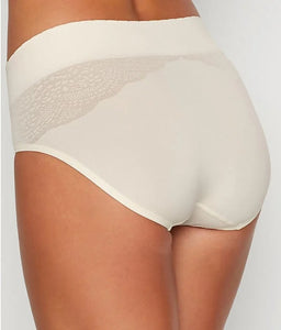 Warner's GARDENIA Plus Size Cloud 9 Seamless Hipster Panty, US 5/Small