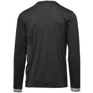 Dyne BLACK Long-Sleeve Side-Pocket Tee, US Large S/S