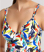 Load image into Gallery viewer, Panache FLORAL PRINT Anya Riva Balconnet Tankini Swim Top, US 32L, UK 32HH
