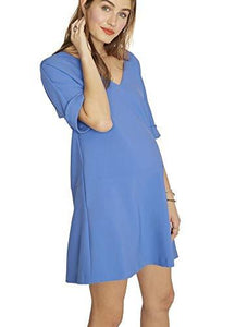 Hatch PERI WINKLE Maternity The Bethany Dress, Size 1